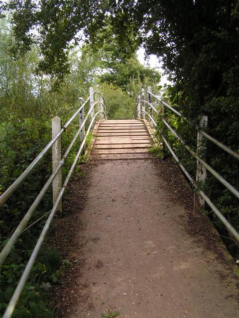 Rainbow Bridge over the Shallows, Haysden Country Park