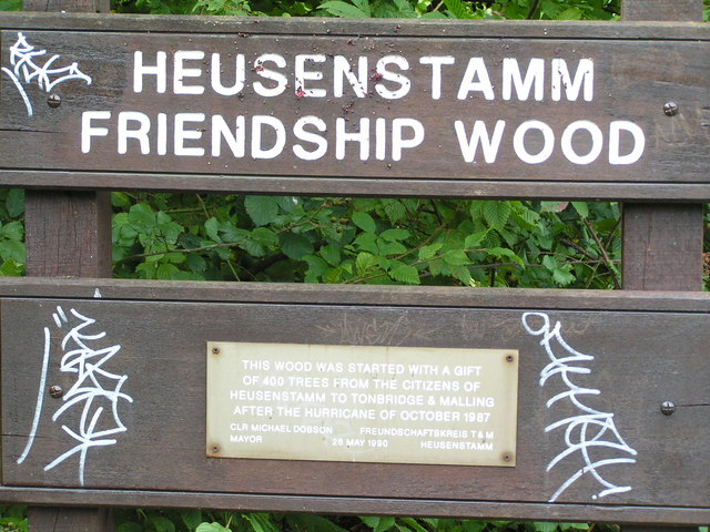 Heusenstamm Friendship Wood, Haysden Country Park