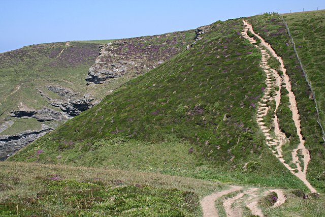 Coast Path at Carvannel Downs