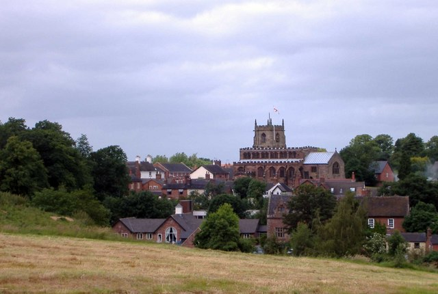 Audlem from the south-east