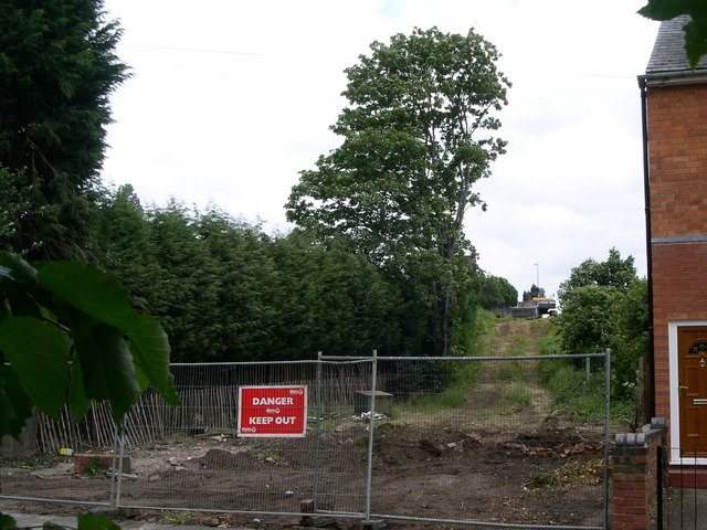 New road site