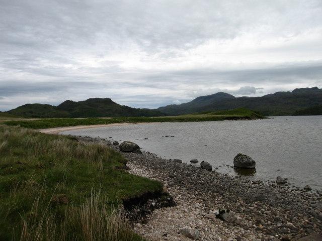Rubha Ban, Loch Morar