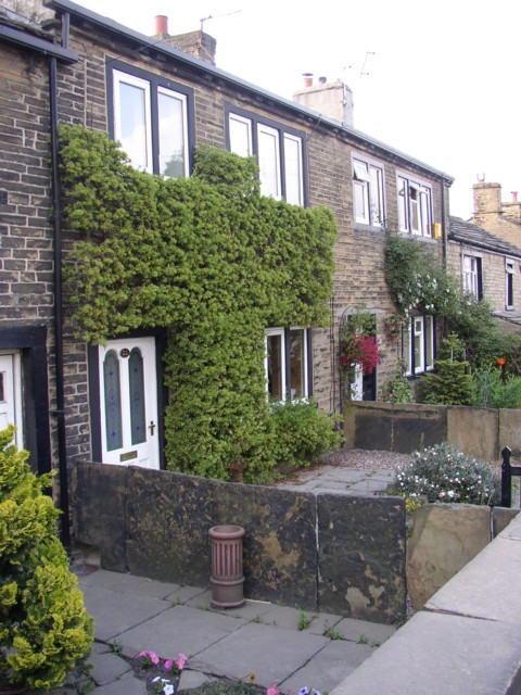 18C cottages, New Hey Road, Rastrick