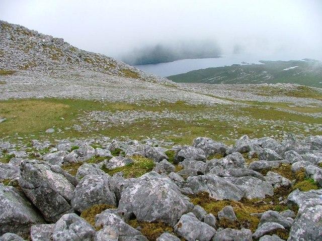 North West Ridge of Glas Bheinn