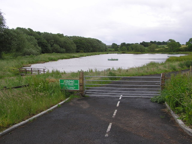 Bishopton Mill Fishing Pond.