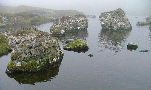 Lochan Below the Bealach na h-Uidhe