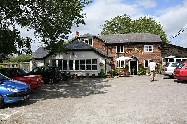 The Black Horse Inn, Hurdcott
