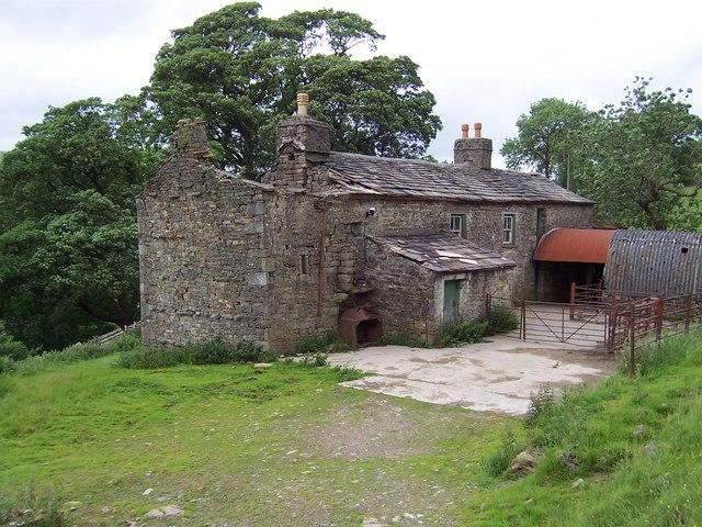Abandoned Farm, near High Houses