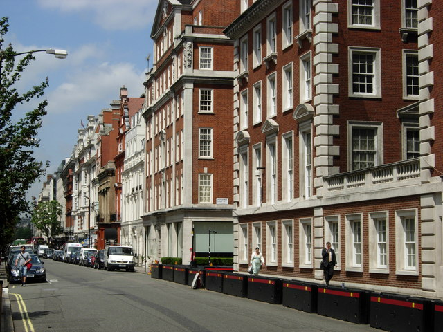 North Audley Street, Mayfair