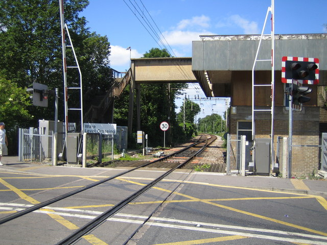 Ware Level Crossing