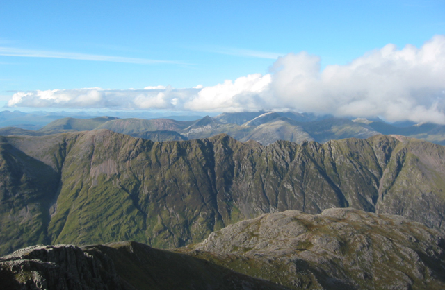 Panorama from Stob Coire nan Lochan, north view