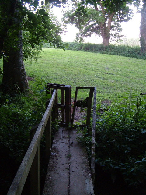 Footbridge over Vine Water, Feniton