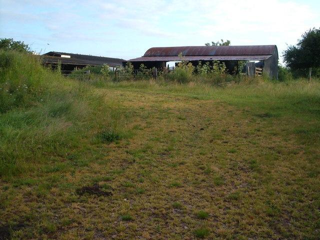 Farm buildings at Winscott Barton
