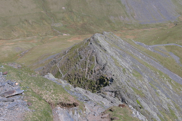 Sharp Edge viewed from above