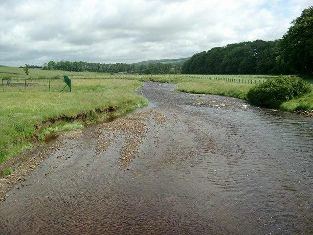 The Douglas Water at Glespin