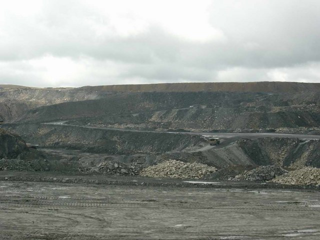 Opencast coal at Glespin