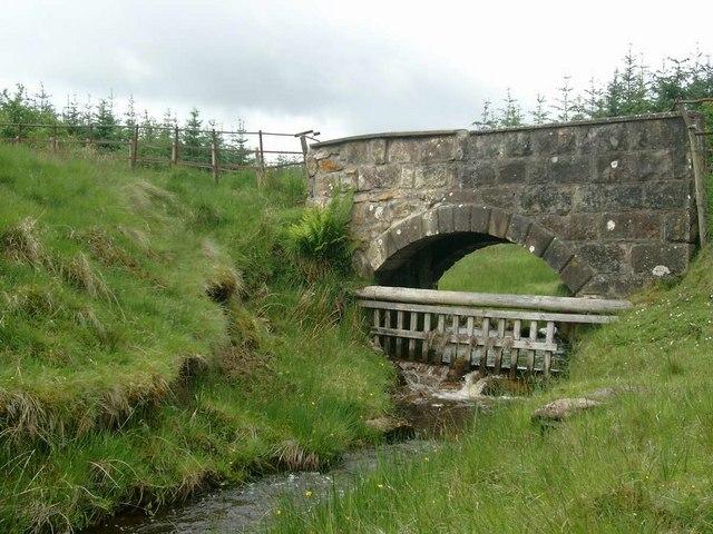 Bridge over the Hartwood Burn
