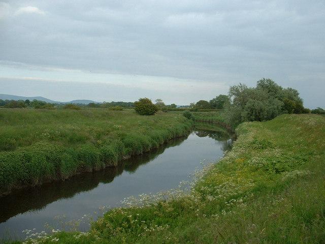 River Wyre near Great Eccleston