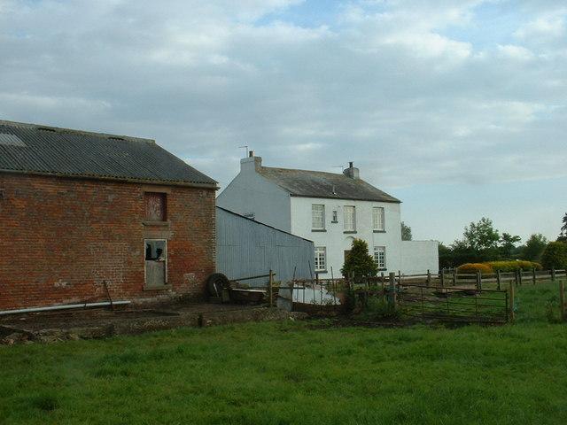 Wyre Hall farm near St Michael's