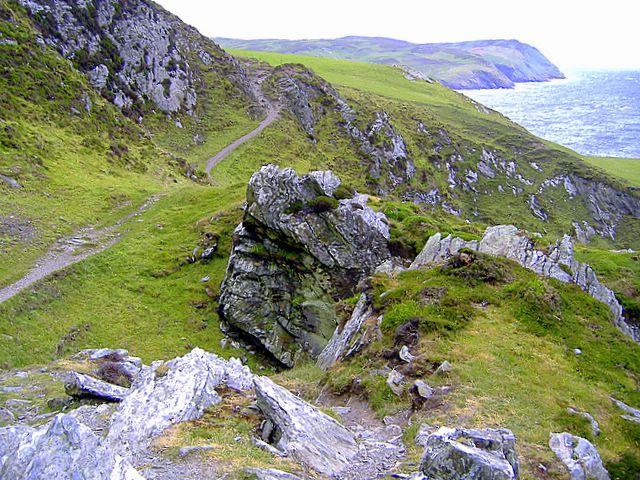 Footpath at Aldrick, Isle of Man