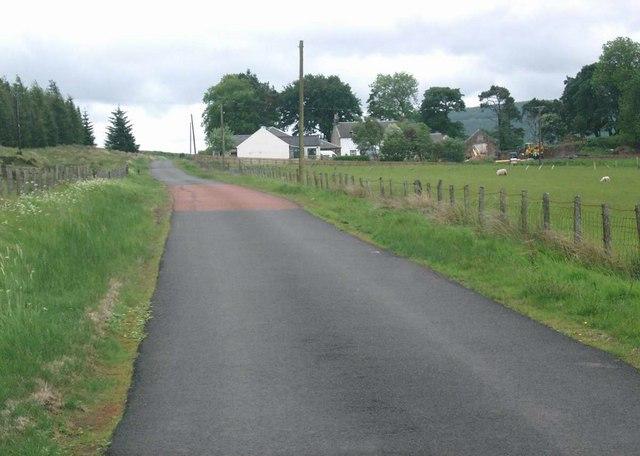 Road to Andershaw farm