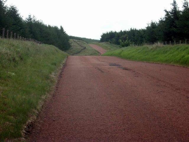 The road to Crawfordjohn