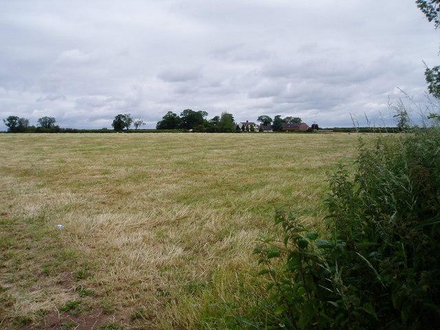 Farmland at Ivy Farm, Gnosall