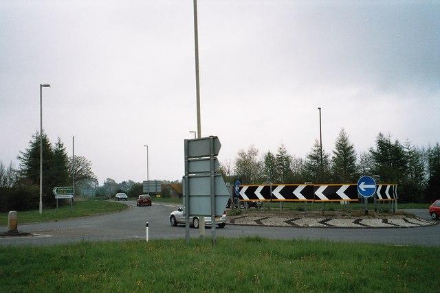 A40/Fosse Way roundabout
