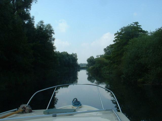 River Waveney at Geldeston