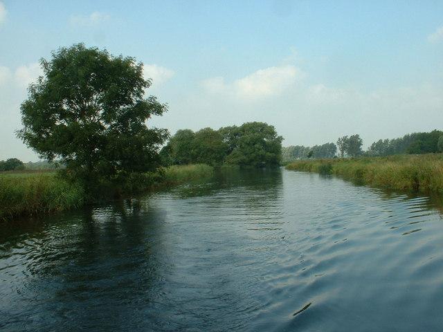 River Waveney at Geldeston Lock