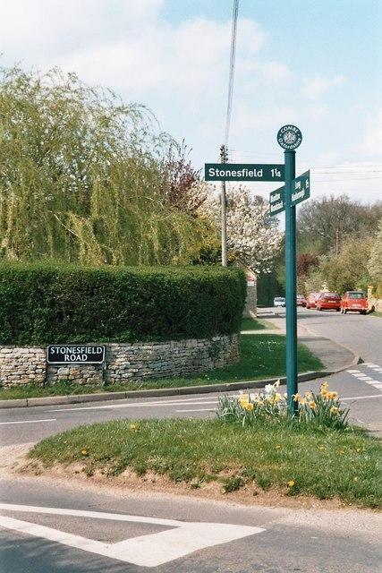 Corner of Stonesfield and Akeman