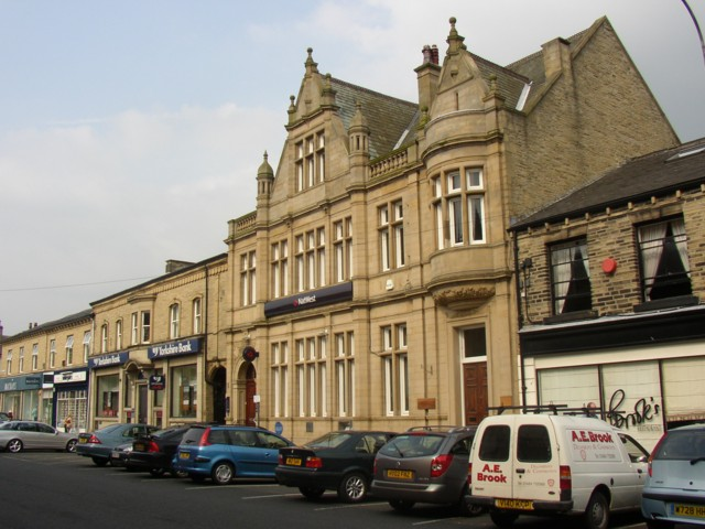 Bank buildings on Bradford Road