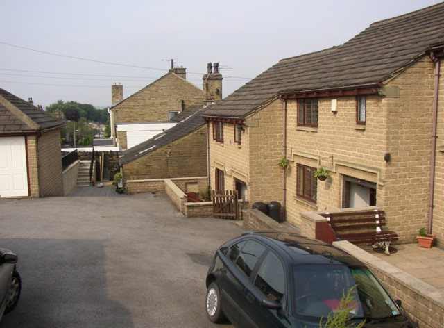 Award-winning houses, Tofts Grove, Rastrick