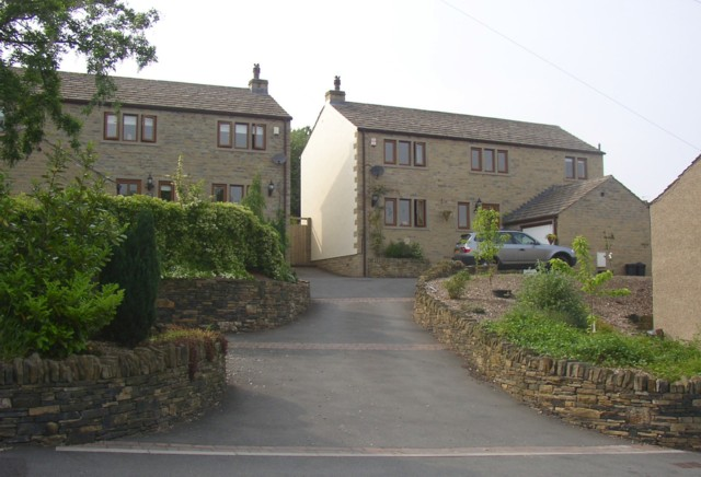 New houses, Tofts Grove, Rastrick