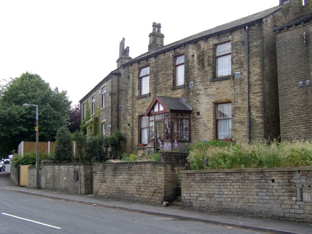 Two double-fronted houses in Slade Lane, Rastrick