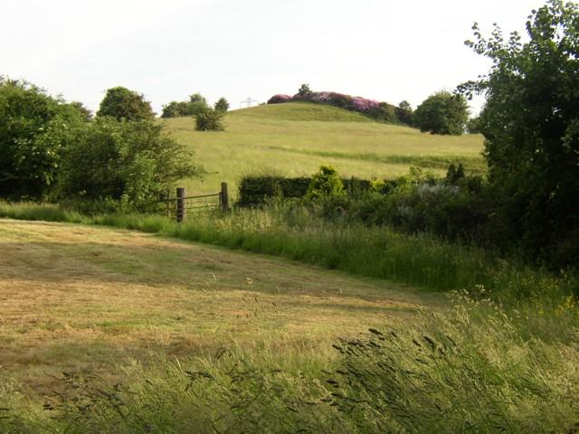 Fields below Round Hill, Rastrick