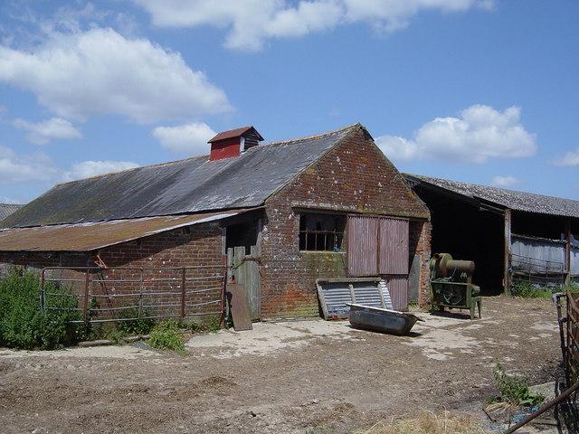Old buildings, Hale Farm