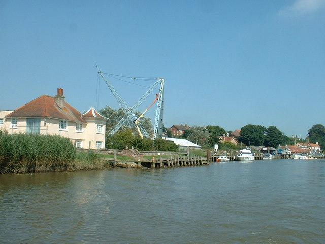 Boatyard at Reedham