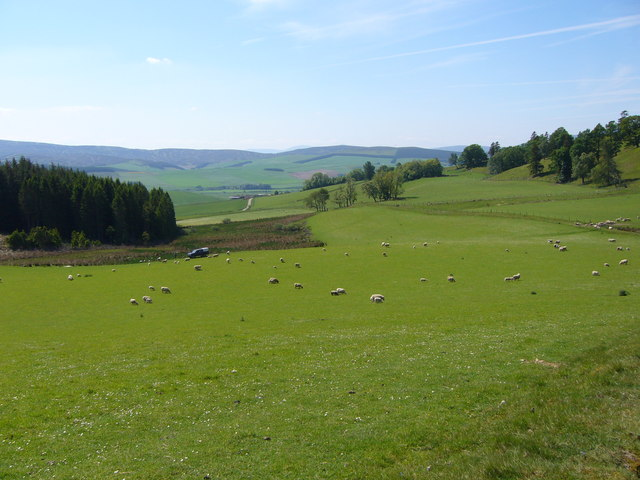 Looking South from Corrie of Morlich