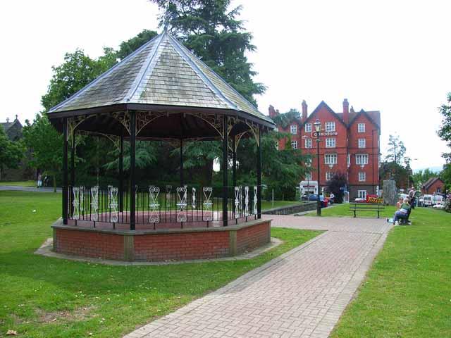 The bandstand, Llandrindod Wells