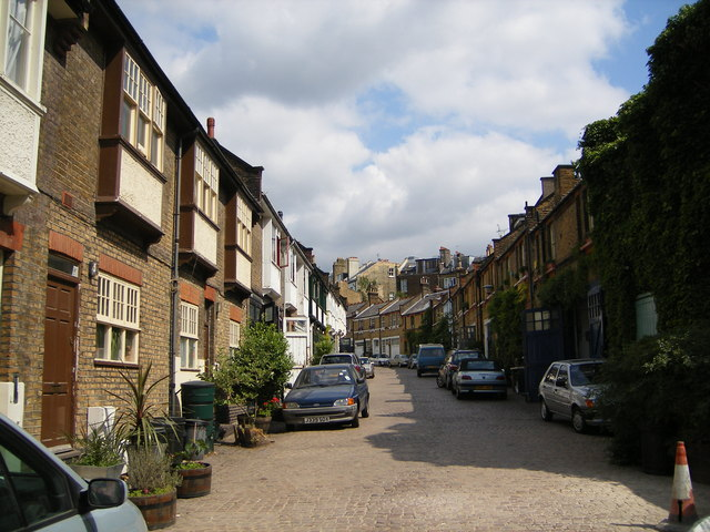 Daleham Mews, West Hampstead