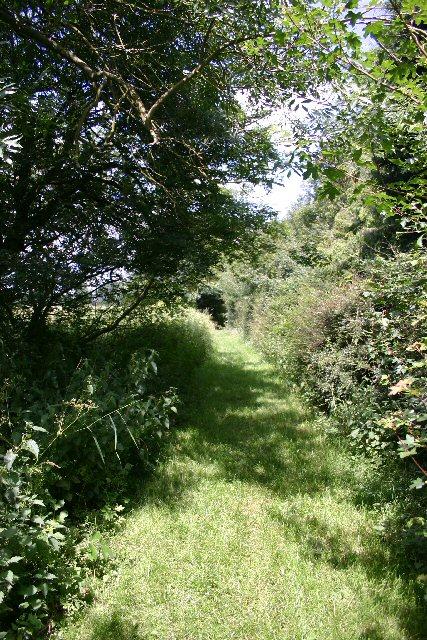 Footpath to Depden Church