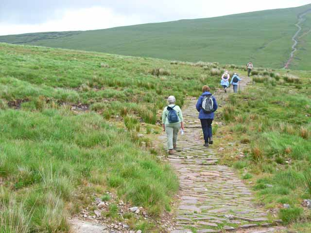 The path to Corn Du