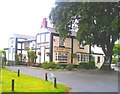 SJ5772 : Tiger's Head Inn, Norley by Jo Lxix