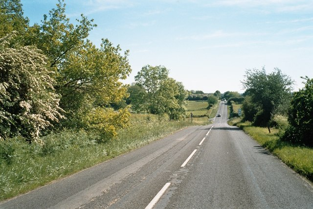 The road to Witney