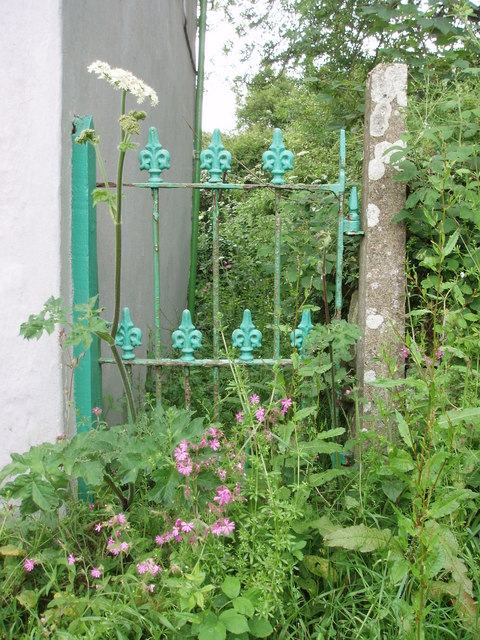 Gate at Little Borthog