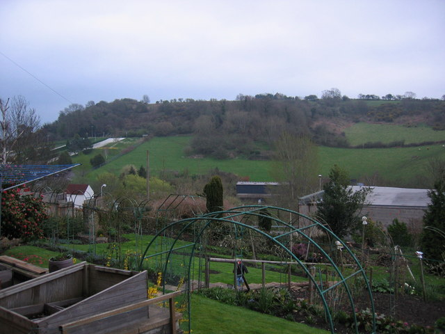 Looking over to Nine Springs