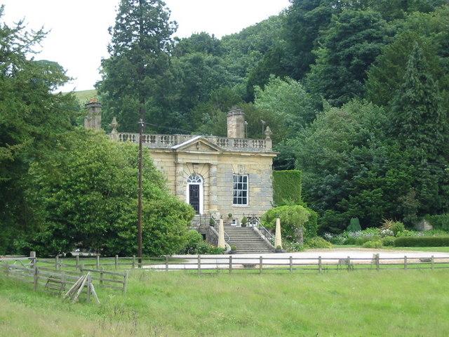 Ebberston Hall seen from St Mary the Virgin churchyard