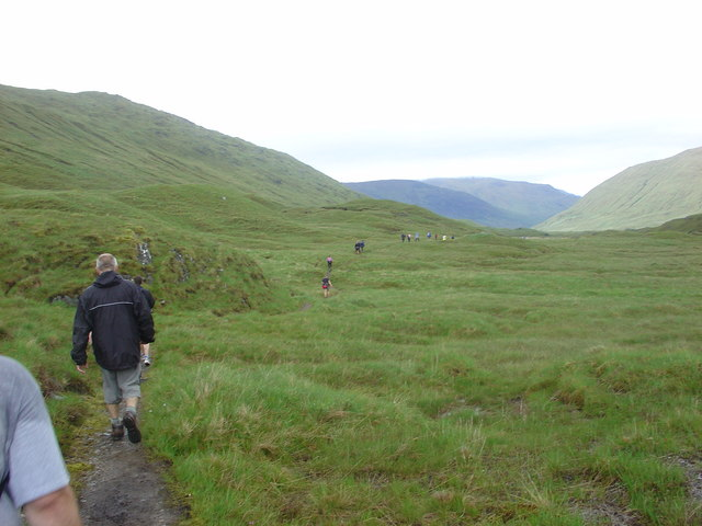Watershed west of Camban Bothy