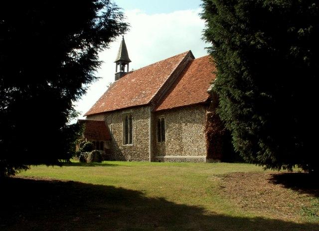 Mashbury parish church, Essex